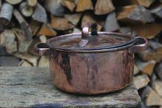 Copper Pot tin handmade by LaCasadelRame