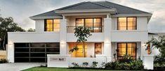 fotos de fachadas de casas de dos plantas
