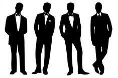 Brittany's SVG Files: Prom Guys