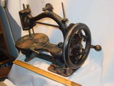 C1870 Johnson Clark Hand Crank Sewing Machine