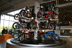 60's motorcycle display. John Podlasek - Google+ Motorcycle Museum picture taken back in Nov. '10. Feel free to add info or details about this image.
