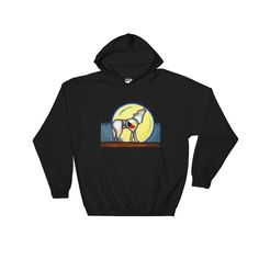 Wolf Medicine Hooded Sweatshirt by David Strickland Shop  #pillows #TShirts #caps #mugs #sweatshirts #hoodies