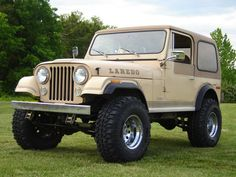 Campbell this is what we should do to grandaddys jeep! Jeep Cj7, Jeep Wrangler, Jeep Jeep, Honda S2000, Honda Civic, Vintage Jeep, Vintage Cars, Badass Jeep, Jeep Accessories