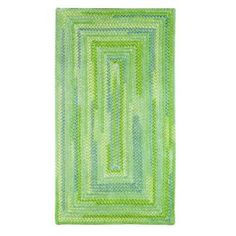 Capel Country Grove Concentric Sea Glass 7 ft. x 9 ft. Area Rug - 0058QS07000900200 - The Home Depot