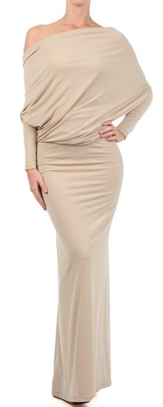 OOH LA LA WHITES Convertible Maxi Dress