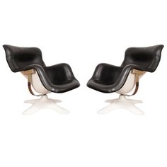 Pair of Yrjö Kukkapuro Karuselli Lounge Chairs