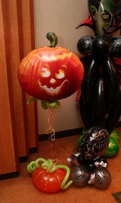Balloon Decoration, My Deco Balloon Balloon Centerpieces 2 - Pumpkin