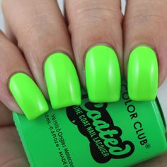 China Glaze Point Treble Maker swatched by Olivia Jade Nails Jade Nails, Olivia Jade, Color Club, China Glaze, Perfect Nails, Swatch, Lime, Nail Polishes, Makeup