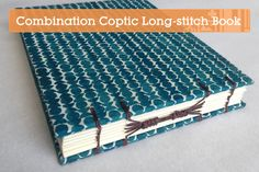 Create a Stunning Combination Coptic Long-stitch Archival Book — Tuts
