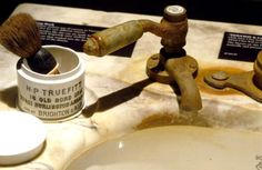 These antique toiletries spent decades under the ocean....se