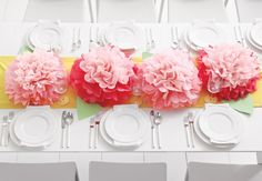 Need to figure out how to do this!! // Discover beautiful ways to spruce up your table with these table decorations.