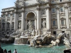 Fontana di Trevi Rome Rome, Italy #travel
