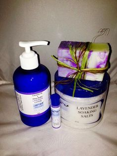 A personal favorite from my Etsy shop https://www.etsy.com/listing/217684468/lavender-gift-set