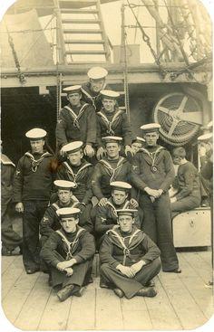 Royal Australian Navy crew of HMAS Encounter