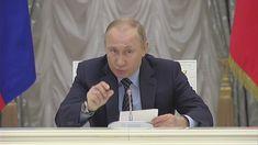 Putin Met In Kremlin With Russian Oligarchs