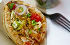 Cuisine grecque: #streetfood à découvrir: les souvlakis du resto Le Filakia dans le quartier Montorgueil