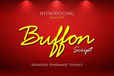 Buffon is a handcrafted script created by Script Font Style, Best Script Fonts, All Fonts, Aesthetic Fonts, Aesthetic Template, Hand Drawn Fonts, Font Combinations, Free Fonts Download, Font Styles