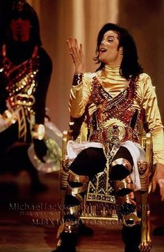 Michael Jackson. RTT. (If anyone is wondering why he's sitting in a chair it's…