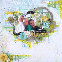 Blue Fern Studios - 3 Boys - Scrapbook.com