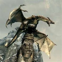 Skyrim dragons are some of my favorite!
