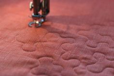 Top tips for beginning free-motion quilting