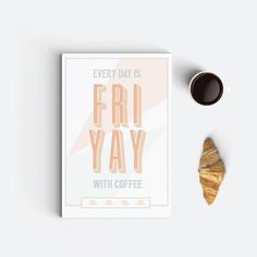 """Wouldn't you agree? Let me also add on a side note that I absolutely love the font I used for the word """"Friyay""""! It's called Graphique Pro Next Comp and you can get it on creativemarket.com, which is a good place also to get high quality vectors and illustrations. If you're into graphic design and you are on a low budget, I definitely recommend subscribing to get their free Monday freebies. Hope this Friday tip will make some designers' hearts happier 😘. Happy Friyay! #typographyinspired"""