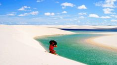Lencois Maranhenses National Park Tourism, Brazil - Next Trip Tourism Places To Travel, Places To See, Brazil Tourism, In 2015, Bright Future, Dream Vacations, Cool Watches, The Good Place, National Parks