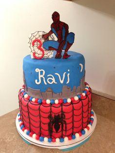 Spiderman cake #2