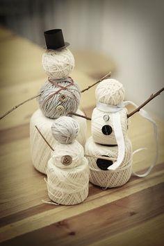 DYI Yarn Snow-Family | upper sturt general store