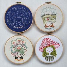 Embroidery pattern DIY stitching by cozyblue