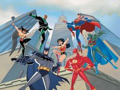 """animationtidbits: """" Bruce Timm to Produce New Justice League Series (x) """" Whoa! DCAU mastermind Bruce Timm will executive producer a new digital Justice League cartoon for Machinima to debut in spring. Dc Comics Heroes, Dc Comics Characters, Dc Comics Art, Marvel Dc Comics, Gotham Comics, Justice League Animated, New Justice League, Bruce Timm, Dc Trinity"""