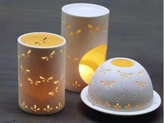 Dragonfly Votives & Oil Burner  Dragonfly ceramic pieces capture the energy and romance of Spring, which is why they are now a Papaya classic.    Choose from Oil Burner, Votive or Dome Votive.  Suitable for use with standard tealight candles.     Available at Papaya Online  http://papaya.com.au/product-details.aspx?ProductCode=VOT177WEB