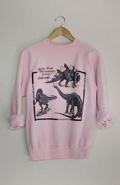 80's dinosaur sweatshirt