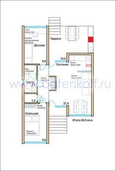 Дом из контейнеров, строительство под ключ от дизайн-студии Batenkoff. Фото проекта