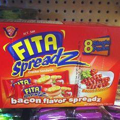 Bacon flavor spread???? I wonder what it would taste like?  #bacon #food #foodporn #igers #weird