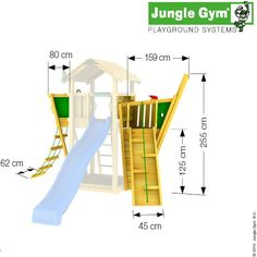 Ahoy There!! The Boat module from Jungle Gym will be sure to delight any children and help their imagination sail away. The Boat module will fix to any of the towers in the Jungle Gym range and will instantly transform the look of your wooden climbing frame. Be it a pirate ship, a