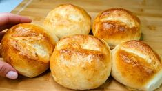 Bakers Yeast, German Bread, Easy Bread, Pains, Bread Rolls, Relleno, Pizza, Sweet, Recipes