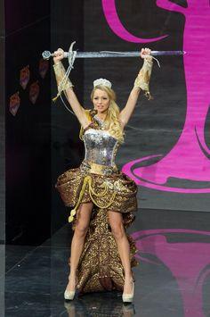Sweden National Costume for Miss Universe 2013