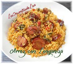 Este arroz queda divino, pero tiene mucho que ver   con la calidad del longaniza que utilices.     Que tenga buen sabor, que sea ahumada ...