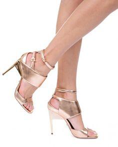 RUTHIE DAVIS PRETTY - ROSEGOLD | Buy ➜ http://shoespost.com/ruthie-davis-pretty-rosegold/