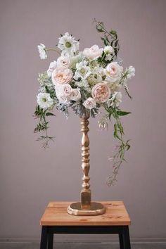Wedding Ideas for Stunning Tall Centerpieces - MODwedding