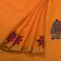 dd230cfe910be Buy Online Saris Mithila. Kota Silk SareeSilk SareesMirror WorkSarisIndian  ...