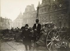 The War Seen from the Street – 86 Rare and Astonishing Vintage Photographs Document Daily Life in Paris During Wartime, 1914-1919