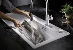BLANCO ZENAR XL 6 S SteamerPlus Catering, Sink, Modern, Kitchen, Home Decor, White People, Sink Tops, Vessel Sink, Trendy Tree