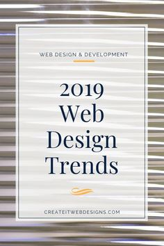 Having a website with 2019 web design trends help you attract customers and viewers to keep them on your website. This helps with your SEO. The website trends in this article include video backgrounds, broken grids, micro-animations, and many more. Fou Web Design Trends, Web Design Jobs, Web Design Websites, Online Web Design, Web Design Quotes, Website Design Services, Web Design Agency, Web Design Tutorials, Web Design Company