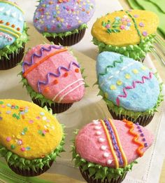 Easter eggs from Hello, Cupcake!: Irresistibly Playful Creations Anyone Can Make by Karen Tack and Alan Richardson