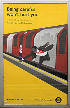 London Underground poster by bowroaduk, via Flickr