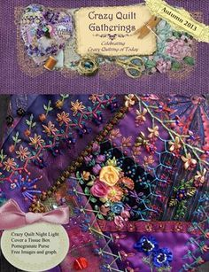 crazy quilt projects - Buscar con Google