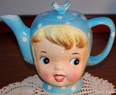 miss cutie pie teapot Napco