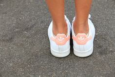 Pink Adidas Stan Smith sneakers